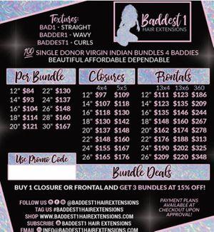Hair bundles for Sale in San Bernardino, CA
