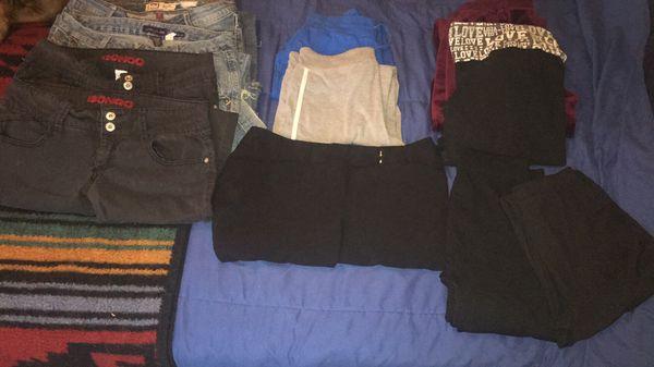 Women's clothes- jeans, sweats, shorts shirts