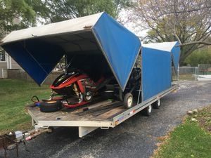 1998 Floe Utility Trailer for Sale in Johnsburg, IL