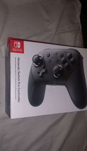 Brand New Nintendo switch pro controller for Sale in Los Angeles, CA