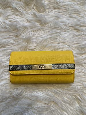Yellow wallet for Sale in Glen Allen, VA