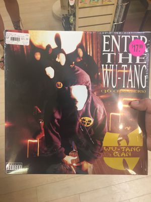 WU TANG VINYL UNOPENED for Sale in Central Falls, RI