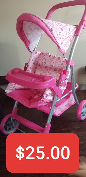 New Big 2 un 1 Kids Toys Strollers and backpacks carrier, Carriola Nueva para niños de Juguete 2 en 1 con mochila for Sale in South Gate, CA