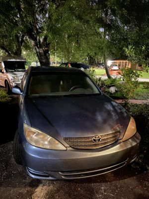 2002 Toyota Camry Manual for Sale in Miami, FL
