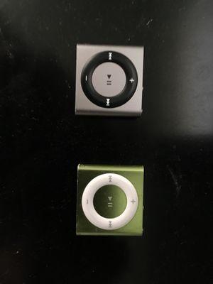2 Ipod Shuffles for Sale in Wenatchee, WA