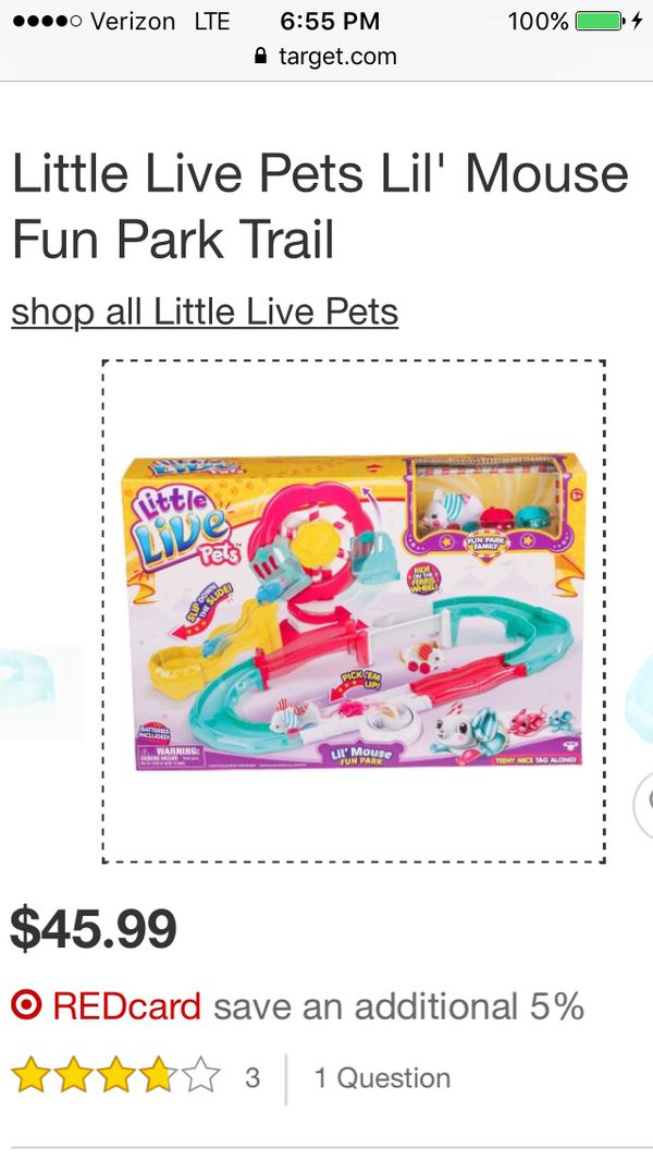 Little Live Pets Fun Park Toy for Sale in Port St  Lucie, FL - OfferUp