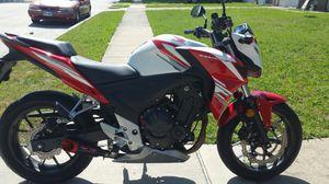 2015 Honda CB500F motorcycle for Sale in Grand Prairie, TX