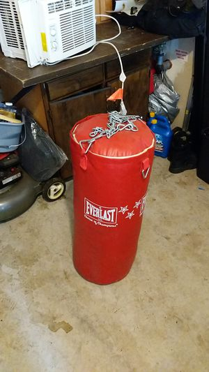 Heavy punching bag for Sale in Everett, WA