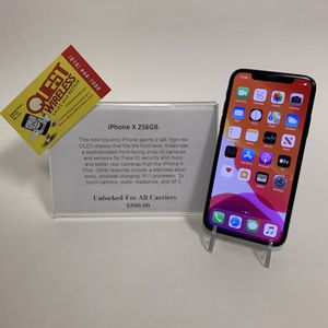 iPhone X 256GB Unlocked for any carrier for Sale in Kansas City, MO