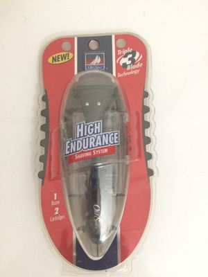 Old Spice High Endurance Shaving System(1 Razor/2 Cartridges) for Sale in Los Angeles, CA