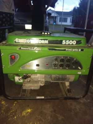 5500 Watt Generator for Sale in Brighton, IA