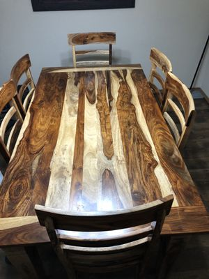 Wood Dining Table for Sale in Steilacoom, WA