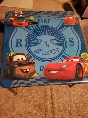 Kids Cars table. for Sale in Houston, TX