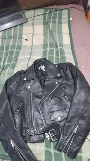 FMC women's motorcycle leather jacket for Sale in Selma, CA