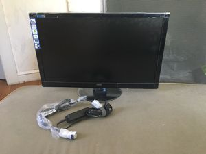 "27"" high end 1929x1080 computer monitor. Model E2752S. Brand new open box, only plugged i0t in once to check for dea0d pixels an0d there are none. for Sale in Wayland, MA"