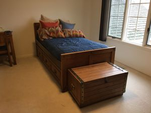Boys Bedroom Set - 8 piece hardwood for Sale in Palatine, IL