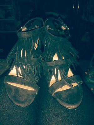 Limelight fringed heels 6 1)2 for Sale in Austin, TX