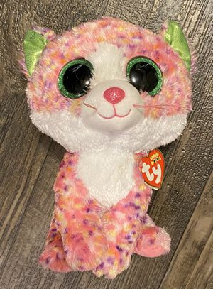 "Ty Beanie Boos Sophie The Cat 10"" Stuffed Animal Plush Toy for Sale in Chapel Hill, NC"