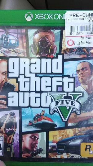 Gta 5 Xbox one for Sale in Prineville, OR