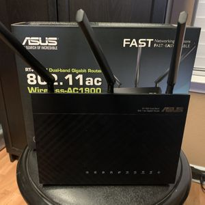 ASUS RT-AC68U Dual Band Wireless Router 4 Port Gigabit for Sale in Camby, IN
