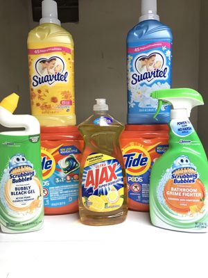 TIDE PODES ASSORTED HOUSEHOLD BUNDLE for Sale in Redondo Beach, CA