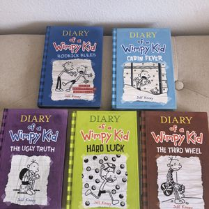 Dairy Of Thr Wimpy Kid Books for Sale in Menifee, CA
