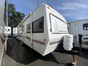 1997 Euro Camper by Fleetwood 26ft Travel Trailer A/c Awning Sleeps 6-8 for Sale in Tacoma, WA