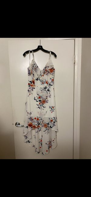 Floral white dress for Sale in Lakeside, CA