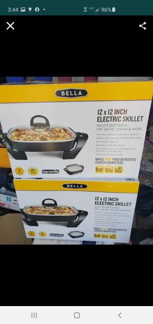 New electric skillet 12x12 for Sale in Riverside, CA
