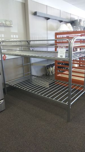New Twin/Twin Metal Bunk Bed for Sale in West Columbia, SC