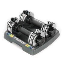 5-in-1 Adjustable Dumbbell Set Convenient Storage Tray Included Durable Steel Construction Easy-Adjust Weight Selector NIB for Sale in Fairfax, VA