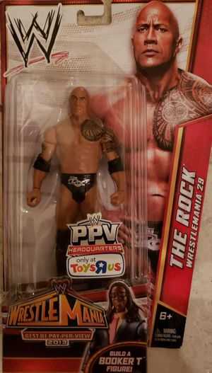 New WWE The Rock Toys R Us Exclusive Action Figure. for Sale in Apopka, FL