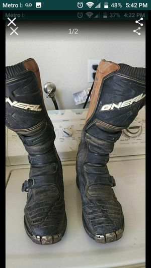 Motorcycle Boots Size 10 for Sale in Apple Valley, CA