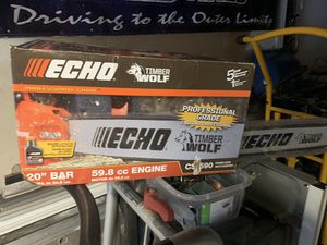Echo chain saw for Sale in Levittown, PA