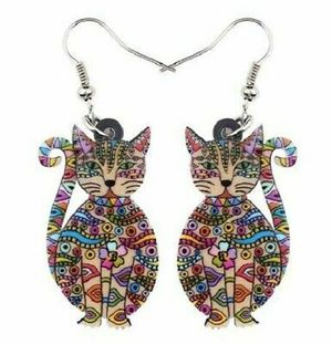 New Acrylic Cat Earrings. for Sale in Fallbrook, CA