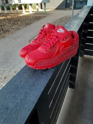 Airmax 90 red for Sale in Dallas, TX