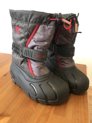 Sorel Kids Flurry size 12 Snow Boots for Sale in Santa Ana, CA