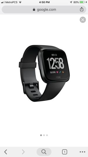 Fitbit Versa , Watch for Sale in Arlington, VA