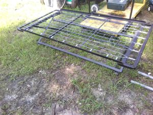 Twin bed frame W wheels for Sale in Tampa, FL