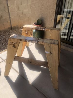 Burro brand wood horse for Sale in Phoenix, AZ