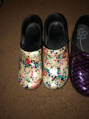 4 pair Dansko/Sanita for Sale in Brighton, CO