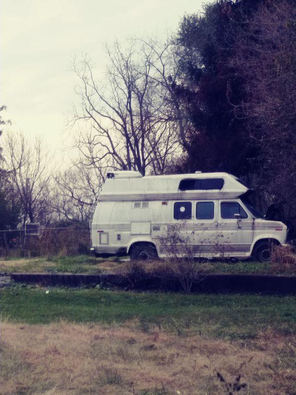 91 ford camper van SCRAP ONLY