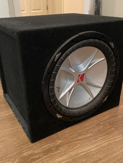 Kicker Subwoofer In Box With Rockford Fosgate Amp for Sale in Los Angeles,  CA