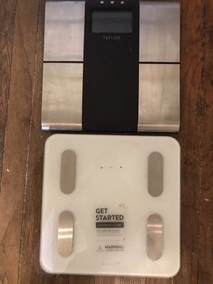 Taylor and Balance brand body composition scales. for Sale in Greenville, SC