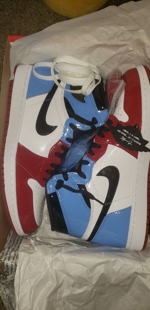 Jordan 1 Retro High Fearless UNC Chicago sz 10.5 for Sale in Bell Gardens, CA