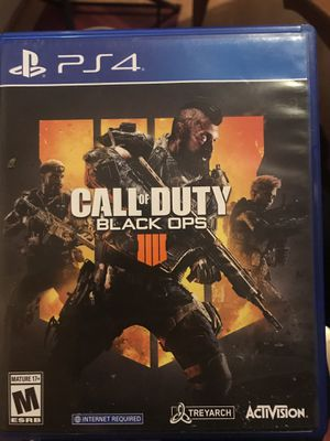 ps4 call of duty black opps 4 for Sale in Providence, RI