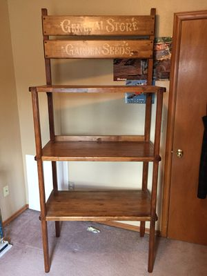 Hand made bakers rack for Sale in South Hill, WA