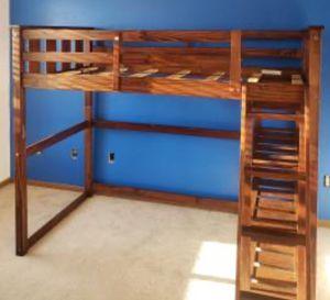 New!! Twin Loft Bed,Furniture,Bed W/Storage,Bedroom,Loft Bed,Kids Room for Sale in Phoenix, AZ