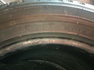 Two 18in tires for Sale in Oelwein, IA