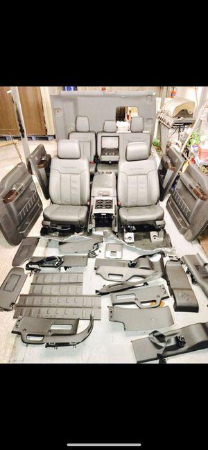 Ford F-250 platinum interior 2016 for Sale in South Miami, FL